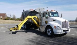 Heil Liberty Automated Side Load Garbage Truck