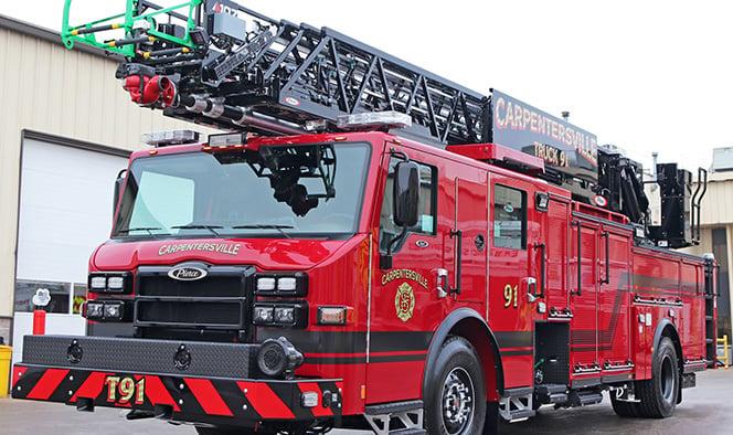 Macqueen Equipment Pierce Fire Truck Aerials