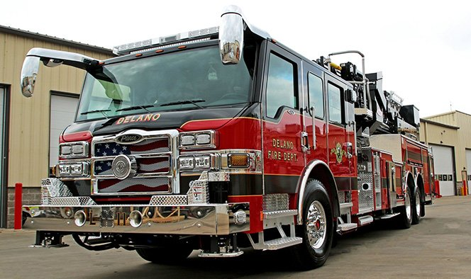 Pierce Manufacturing Custom Chassis Fire Truck