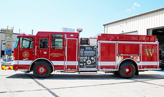 Macqueen Equipment Pierce Fire Truck Pumper