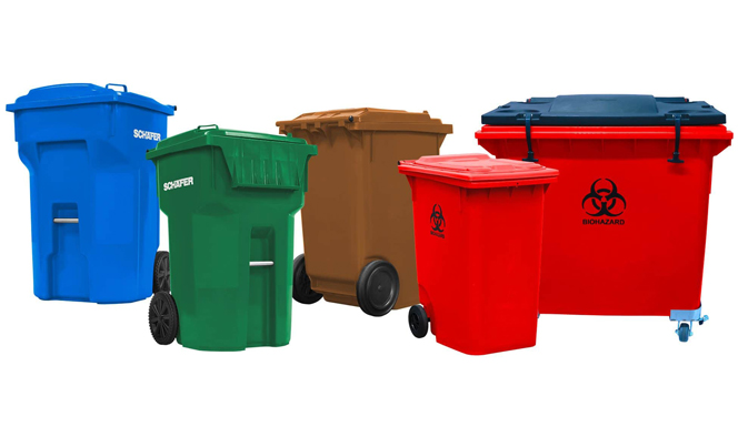 Refuse Recycling Schaefer Waste Recycling Carts