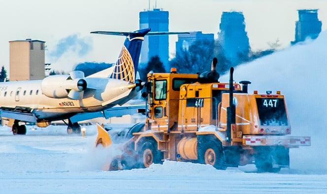 Snow Removal Oshkosh Snow Products Dual Engine Blower