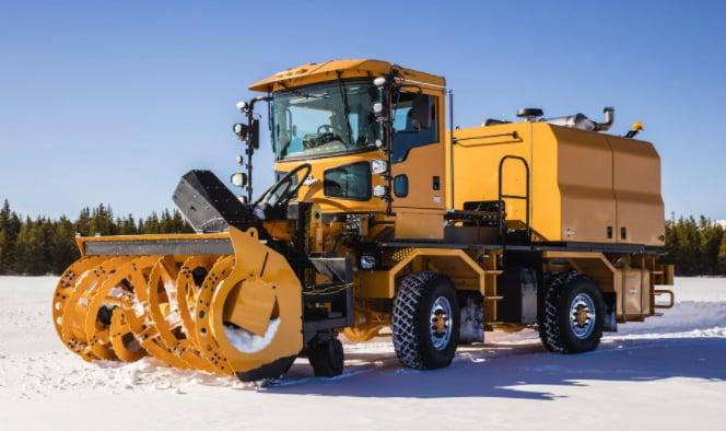 Snow Removal Oshkosh Snow Products Single Engine Blower