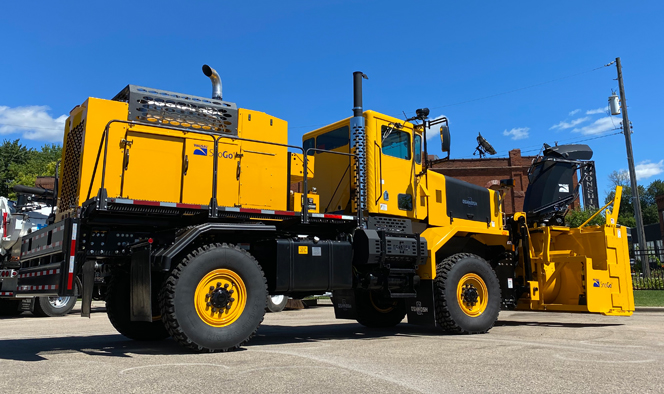 Snow Removal Oshkosh Snow Products Chassis