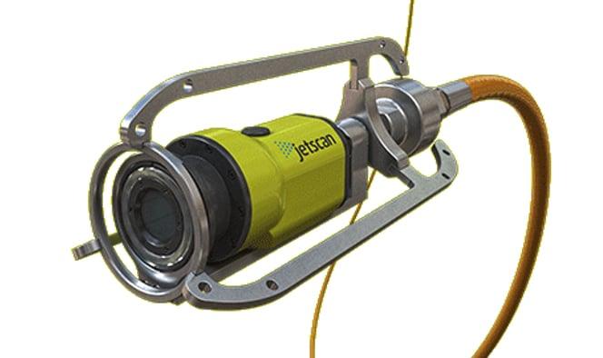 Sewer Wastewater Envirosight Jetscan HD Video Nozzle