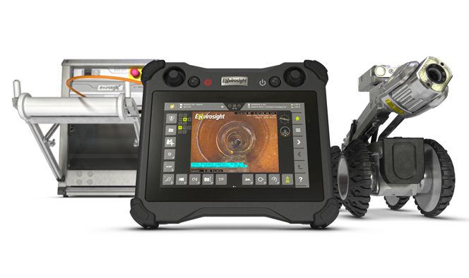 Sewer Wastewater Envirosight Rovver X Sewer Inspection Crawler