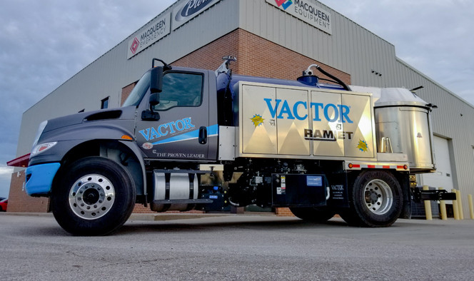 Sewer Wastewater Vactor Ramjet Truck Series