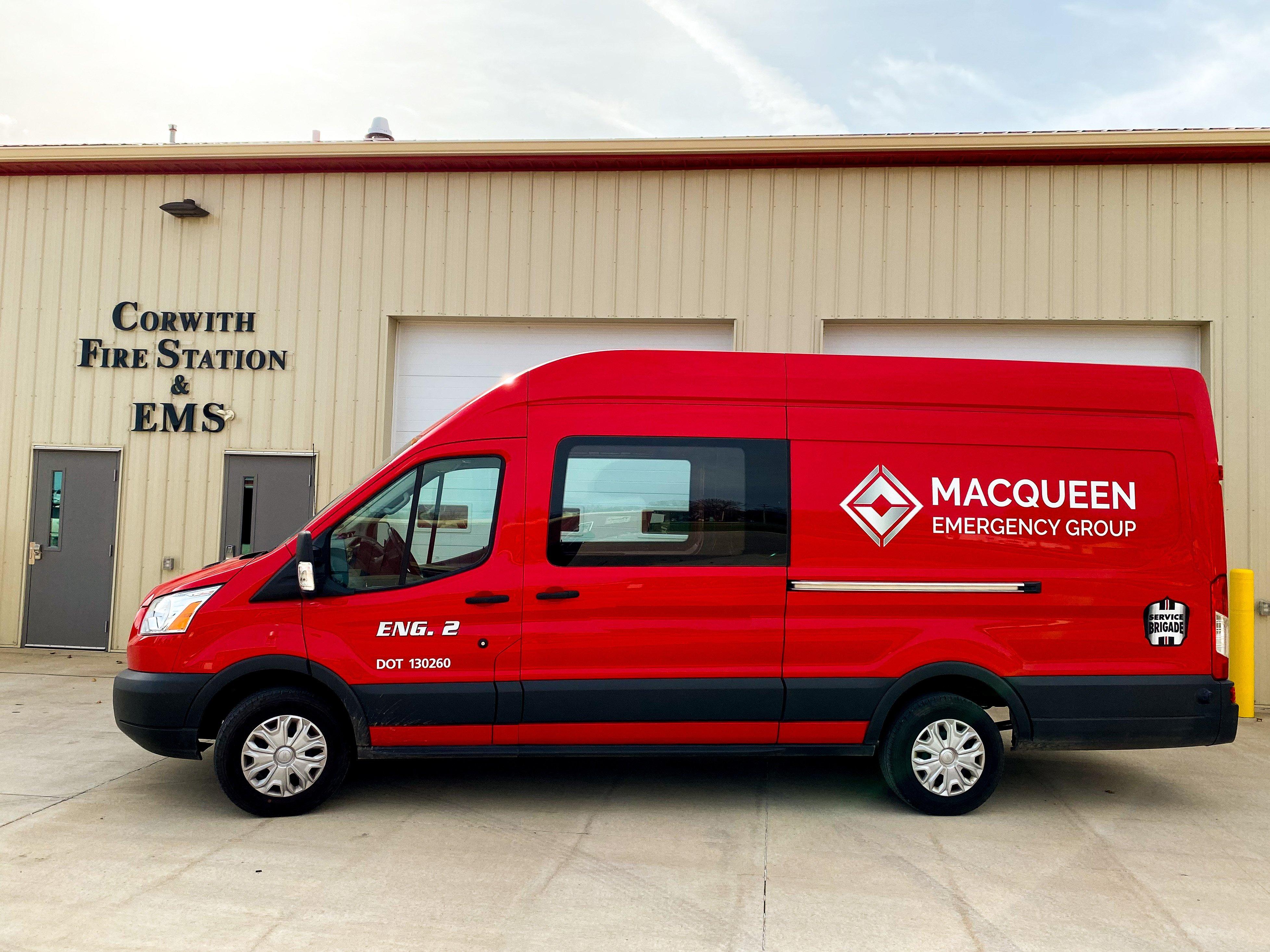 MacQueen Emergency Enters Iowa