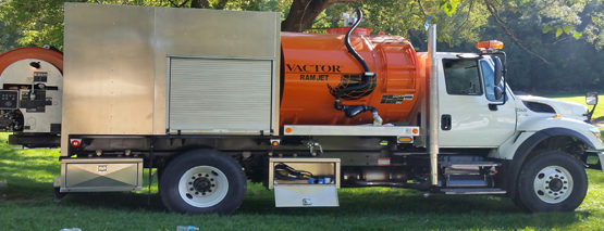 Vactor Ram Jet Delivery: City of Council Bluffs