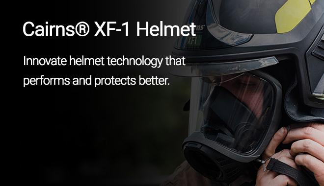MSA Cairns® XF-1 Helmet - MacQueen Emergency