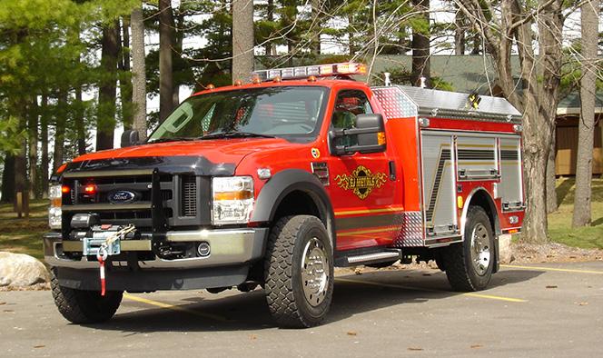EJ Metals All-Terrain Fire Rescue Trucks