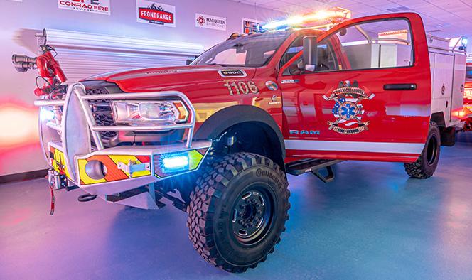 MacQueen Emergency - skeeter brush trucks