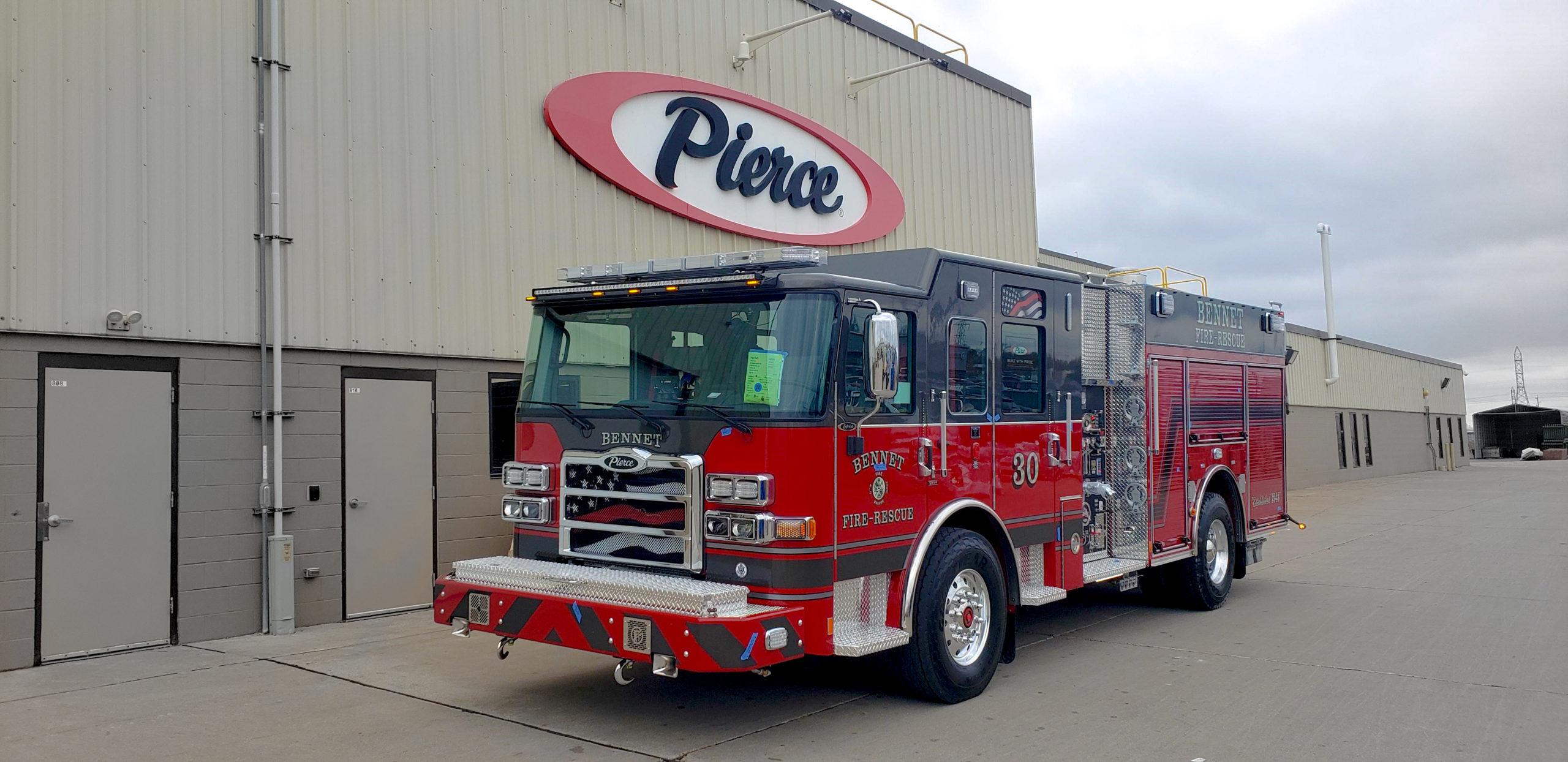 Bennet Fire & Rescue - Pumper