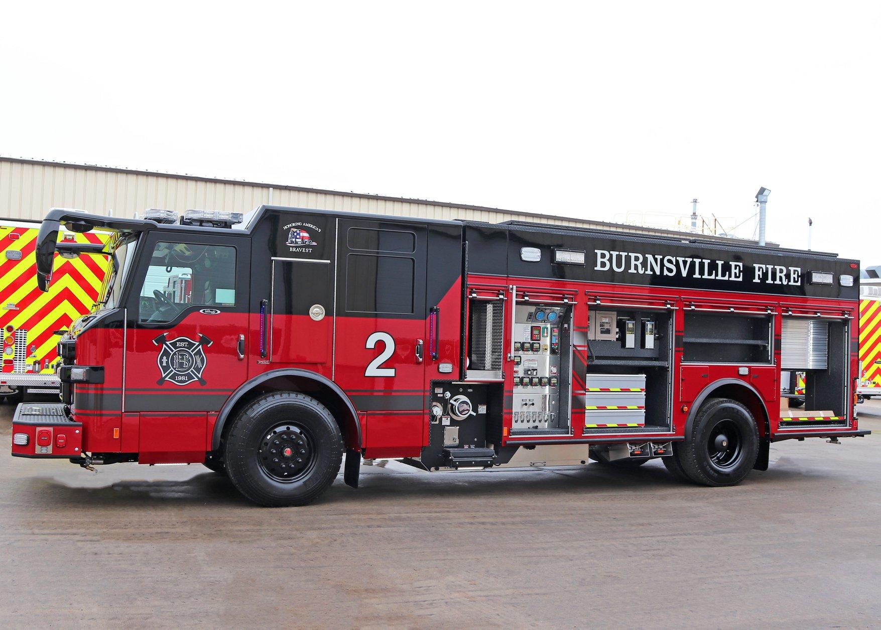 Burnsville Fire Department - Pumper