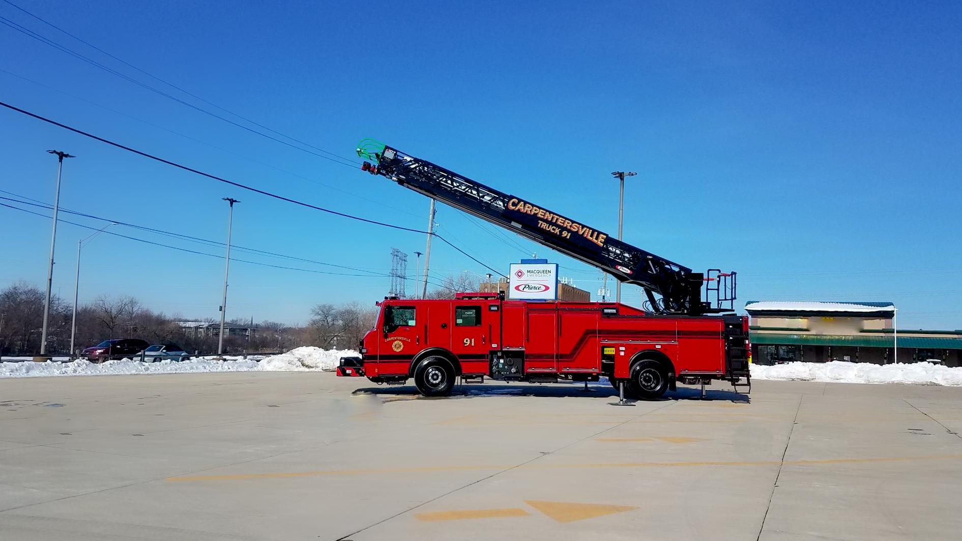 Carpentersville Fire Department - Aerial