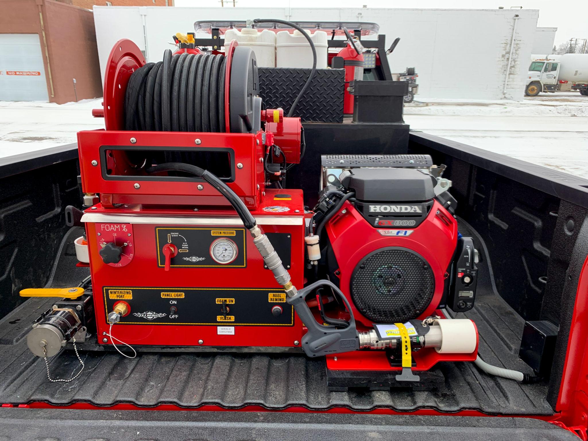 Carrington Fire Department - E.J. Metals Skid Unit