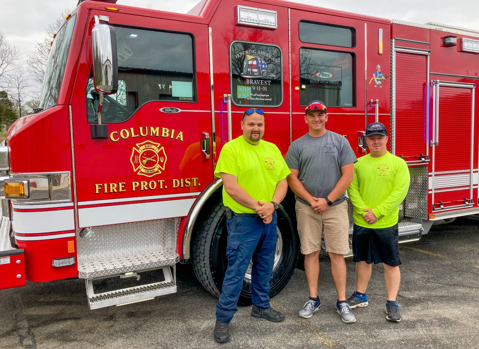 Columbia Fire Protection District - Pumper