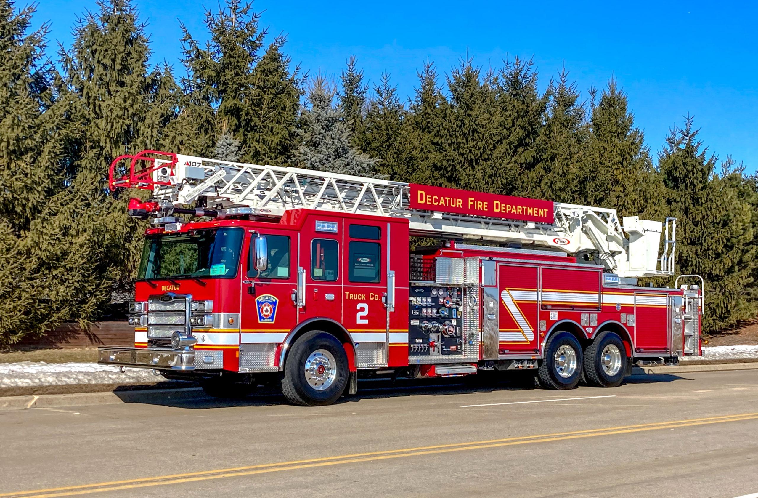 Decatur Fire Department - Aerial