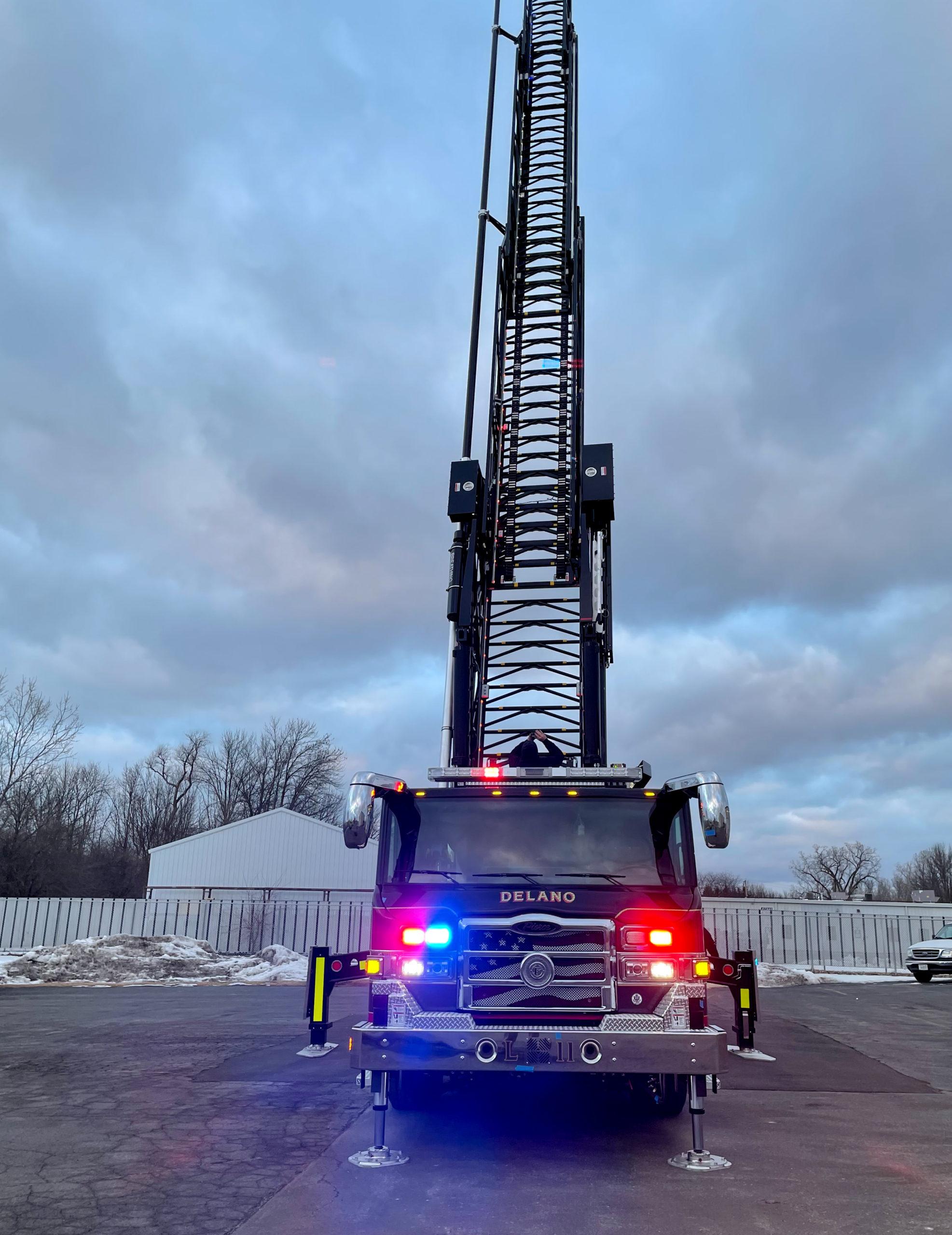 Delano Fire Department - Aerial