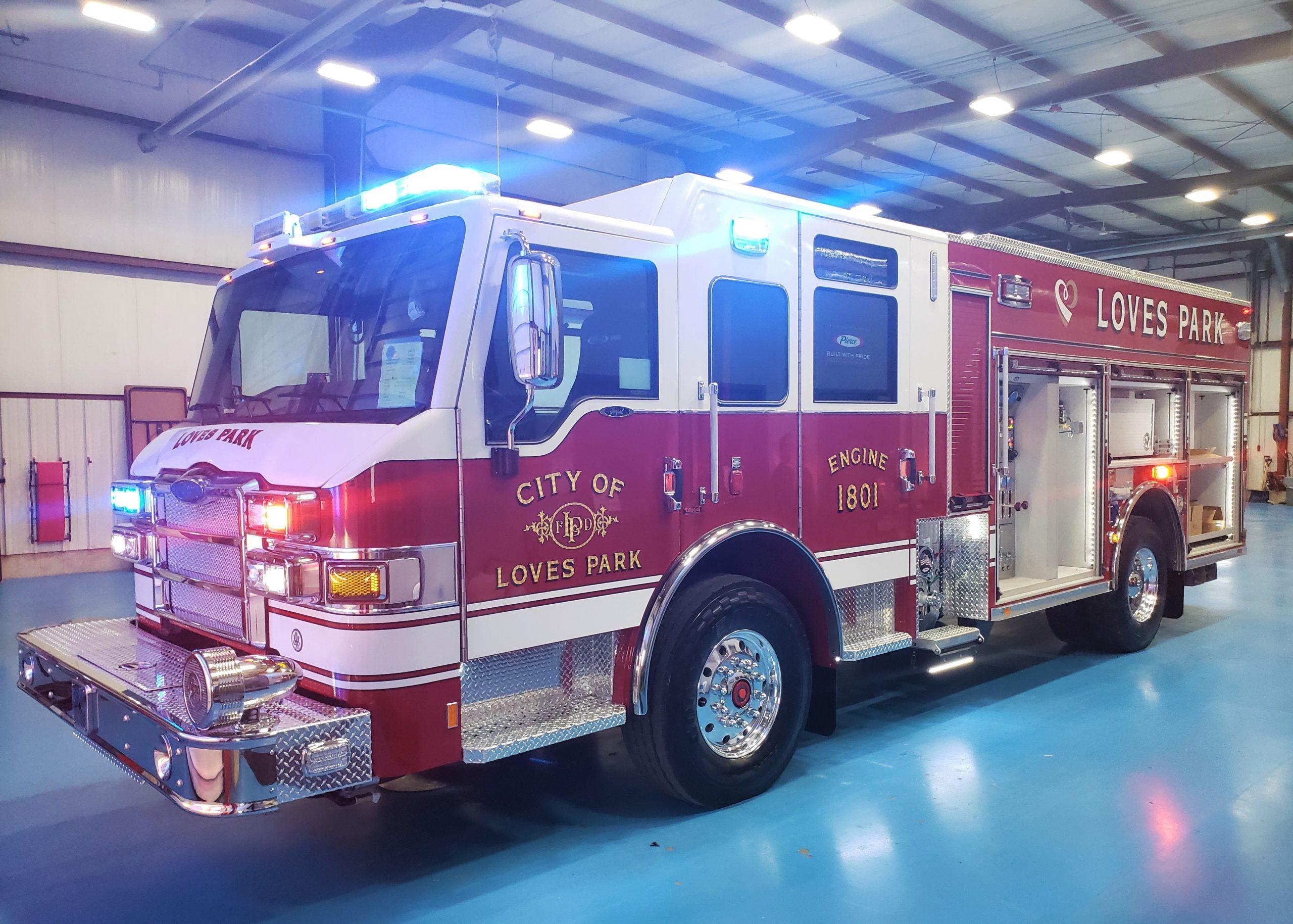 City of Loves Park Fire Department - Pumper