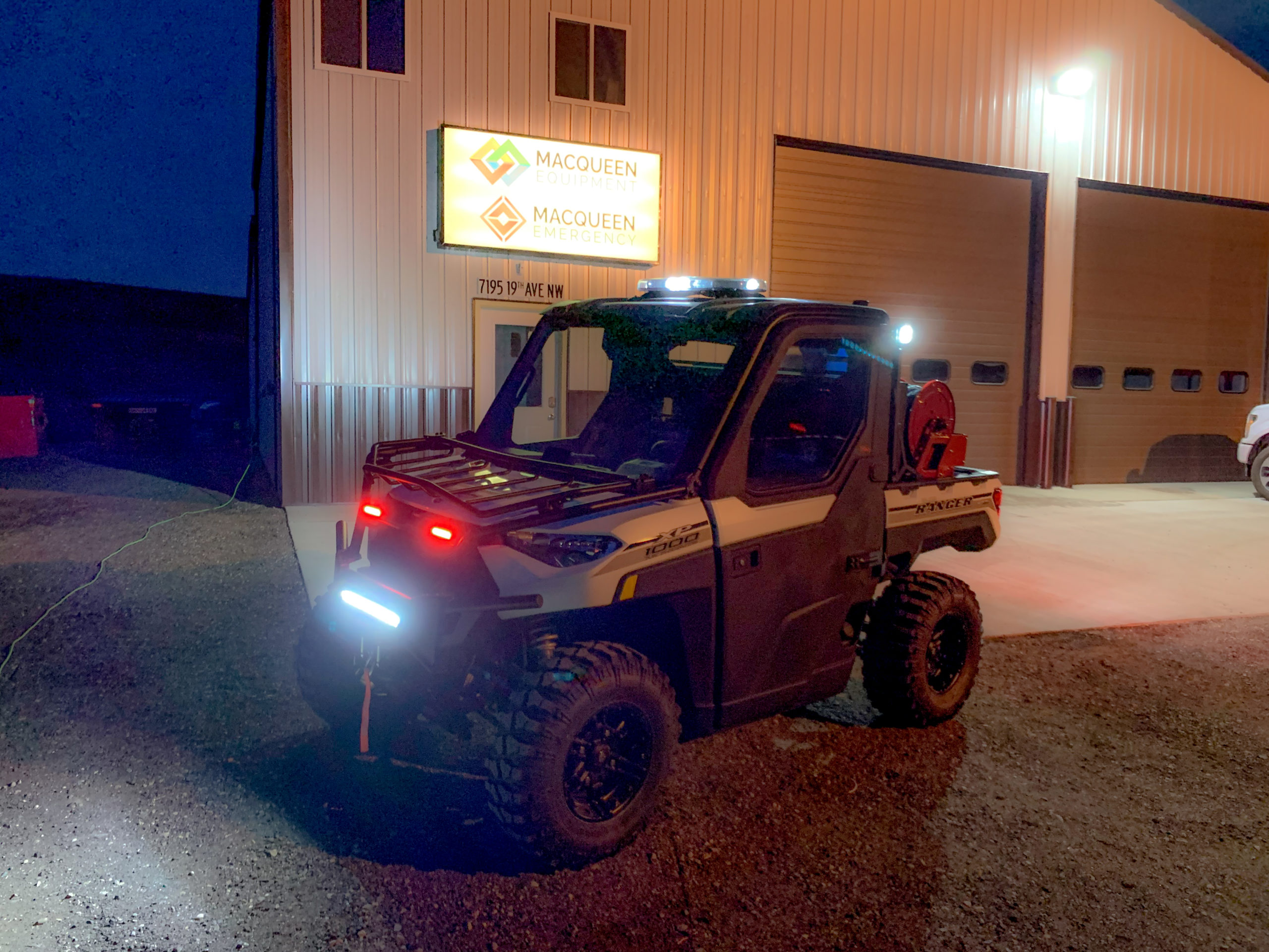 North Dakota Forest Service - E.J. Metals Skid Unit + UTV