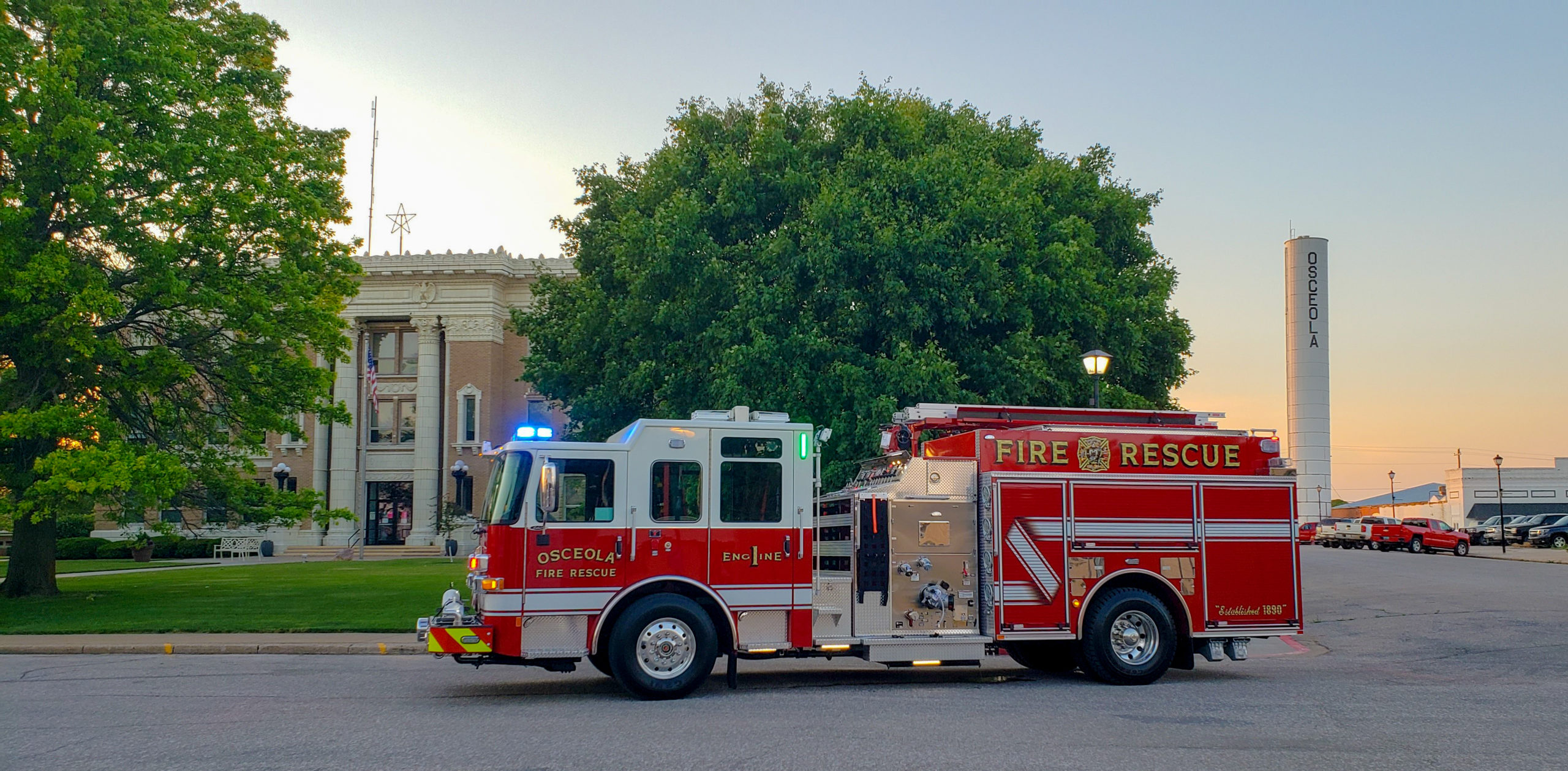 Osceola Fire Department - Pumper