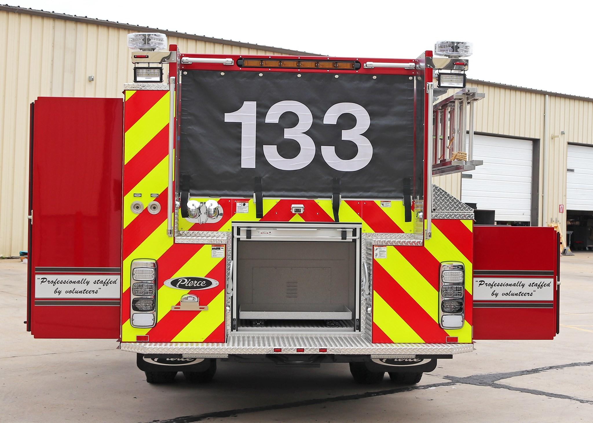 Ralston Volunteer Fire Department - Pumper