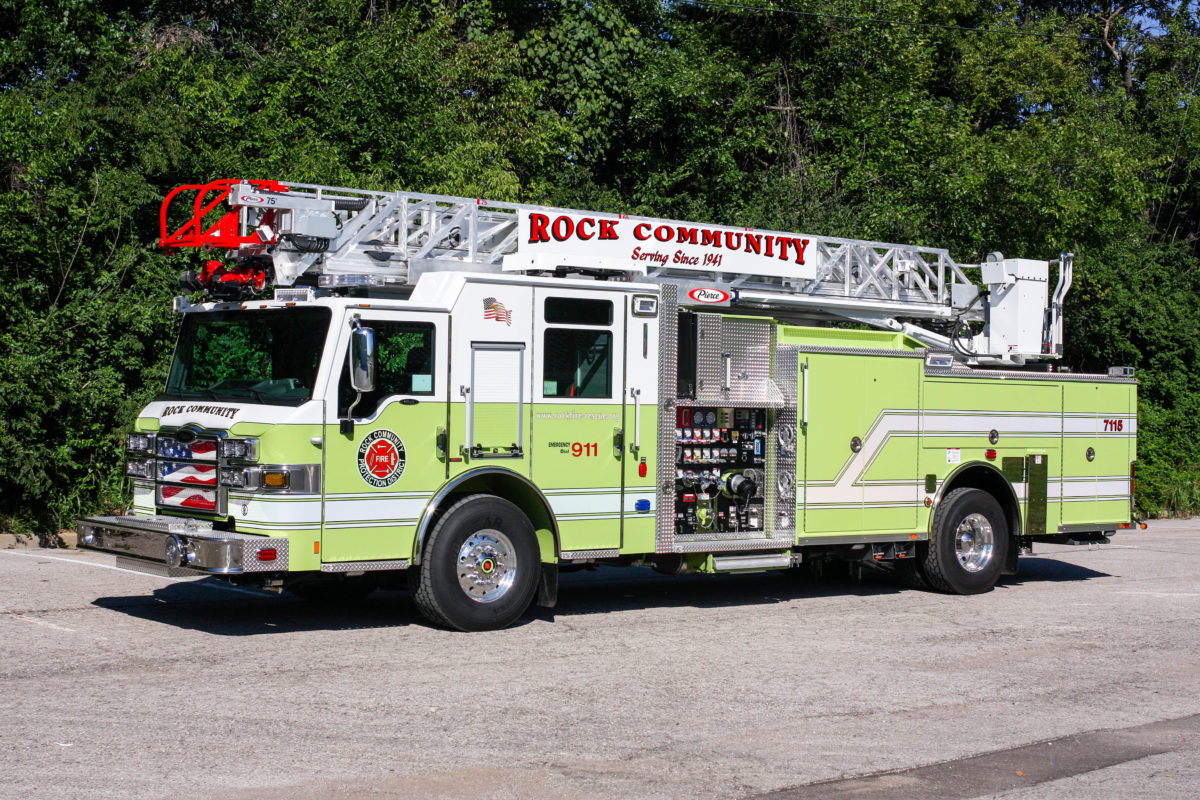 Rock Community Fire Protection District - Aerial