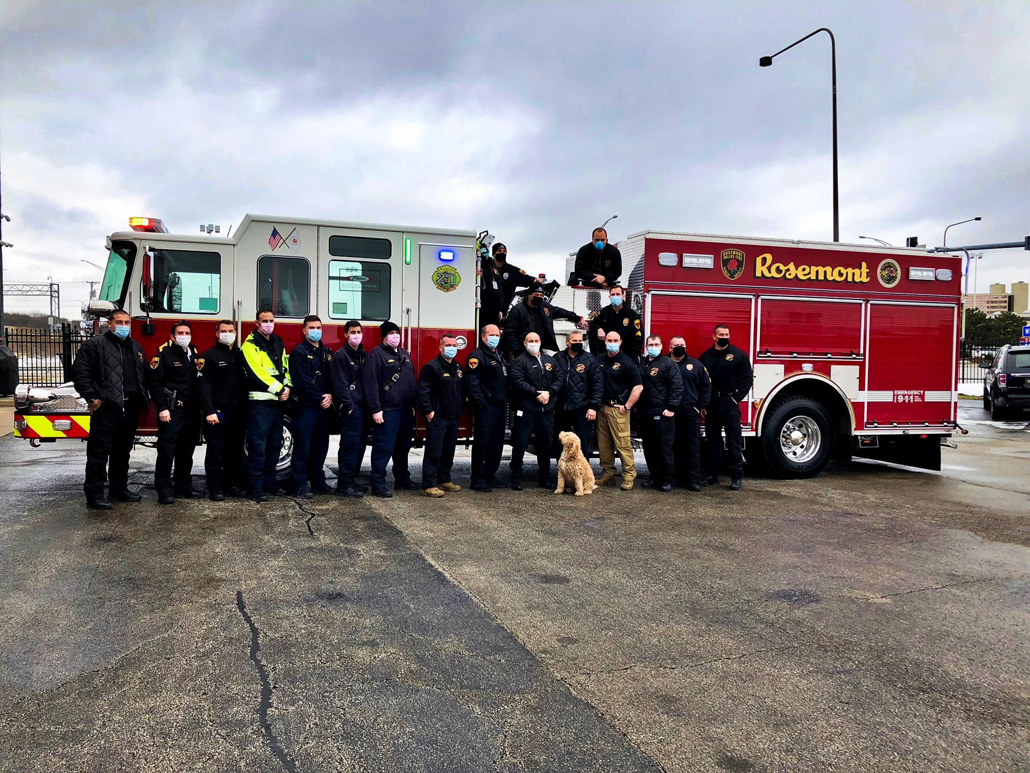 Rosemont Fire Department - Pumper