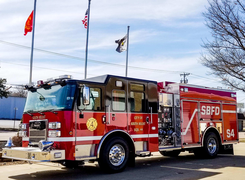 South Beloit Fire Department - Pumper