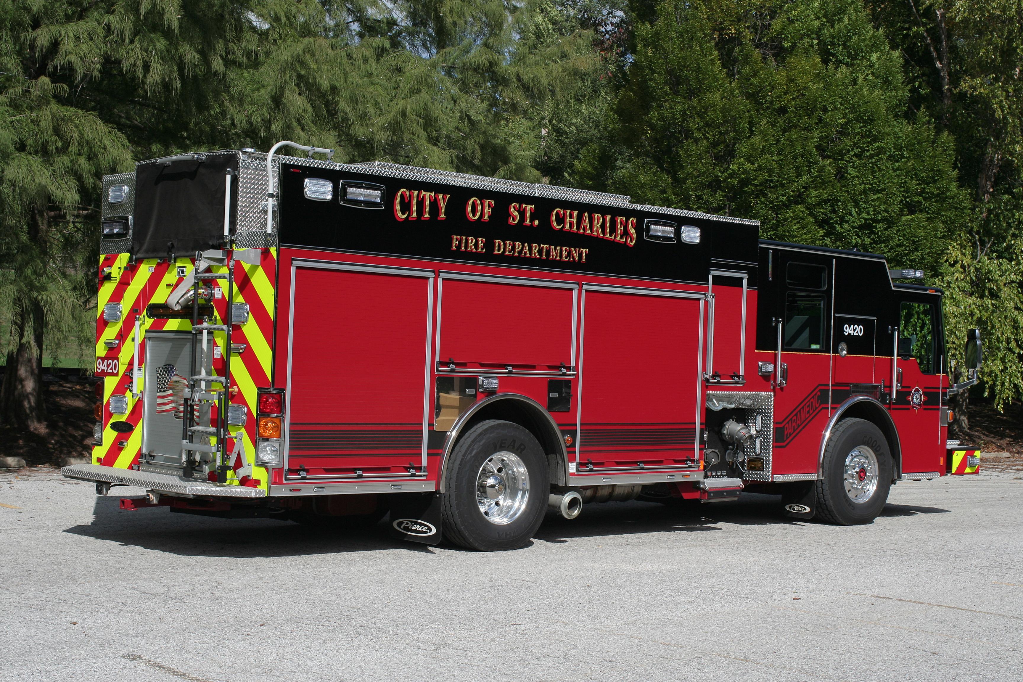 St. Charles Fire Department - Pumper
