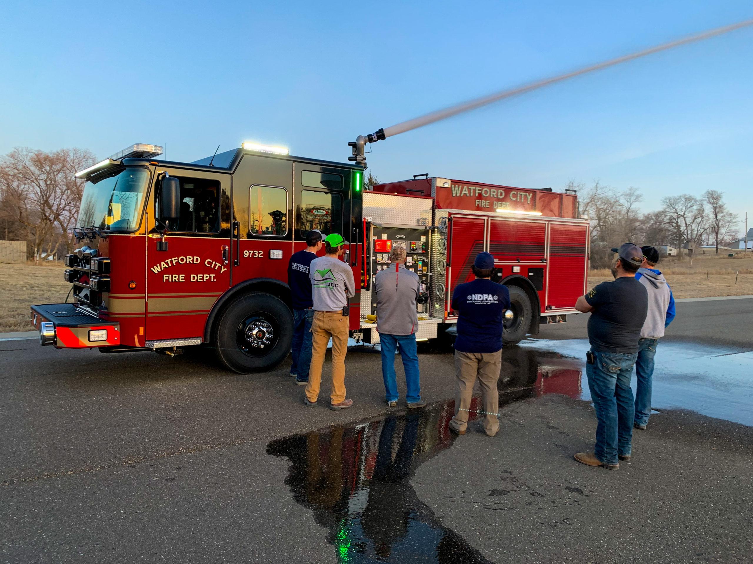 Watford City Fire Department - Pumper