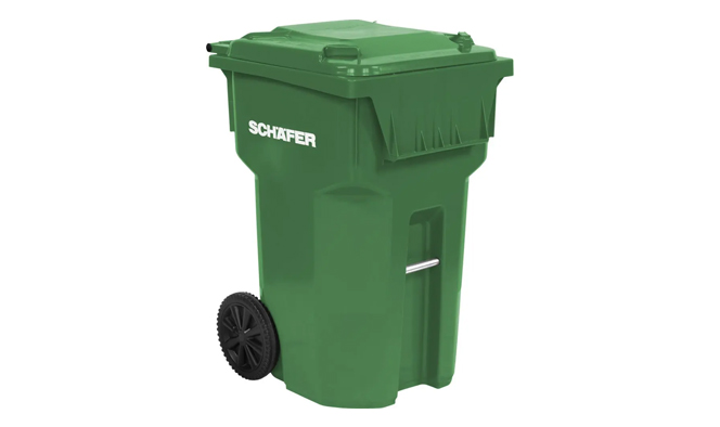 Refuse Recycle Schaefer Waste B Carts