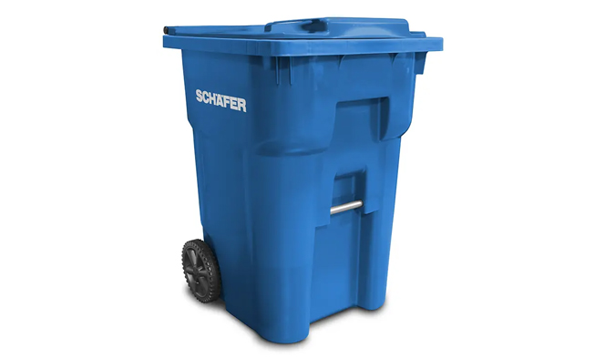 Refuse Recycle Schaefer Waste Q Carts