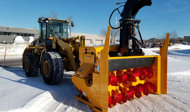 Snow Removal Larue Loader Mounted Blowers