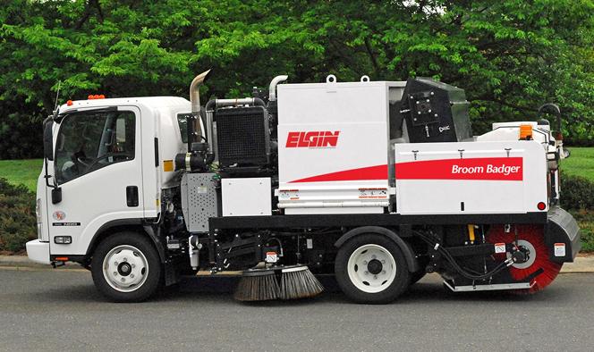 Street Maintenance Elgin Broom Badger Mechanical Street Sweeper