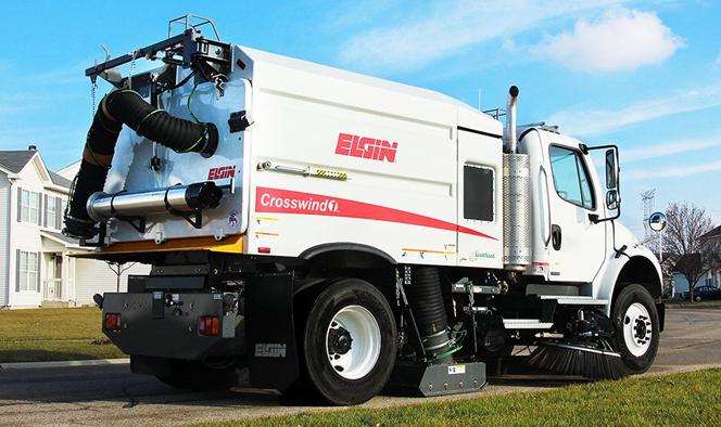 Street Maintenance Elgin Crosswind Regenerative Air Street Sweeper