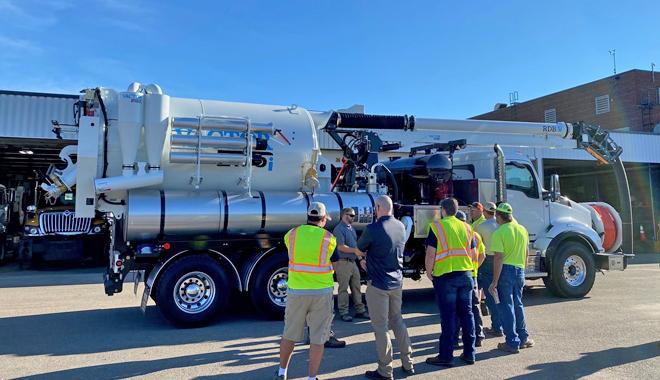 Environmental equipment and trucks
