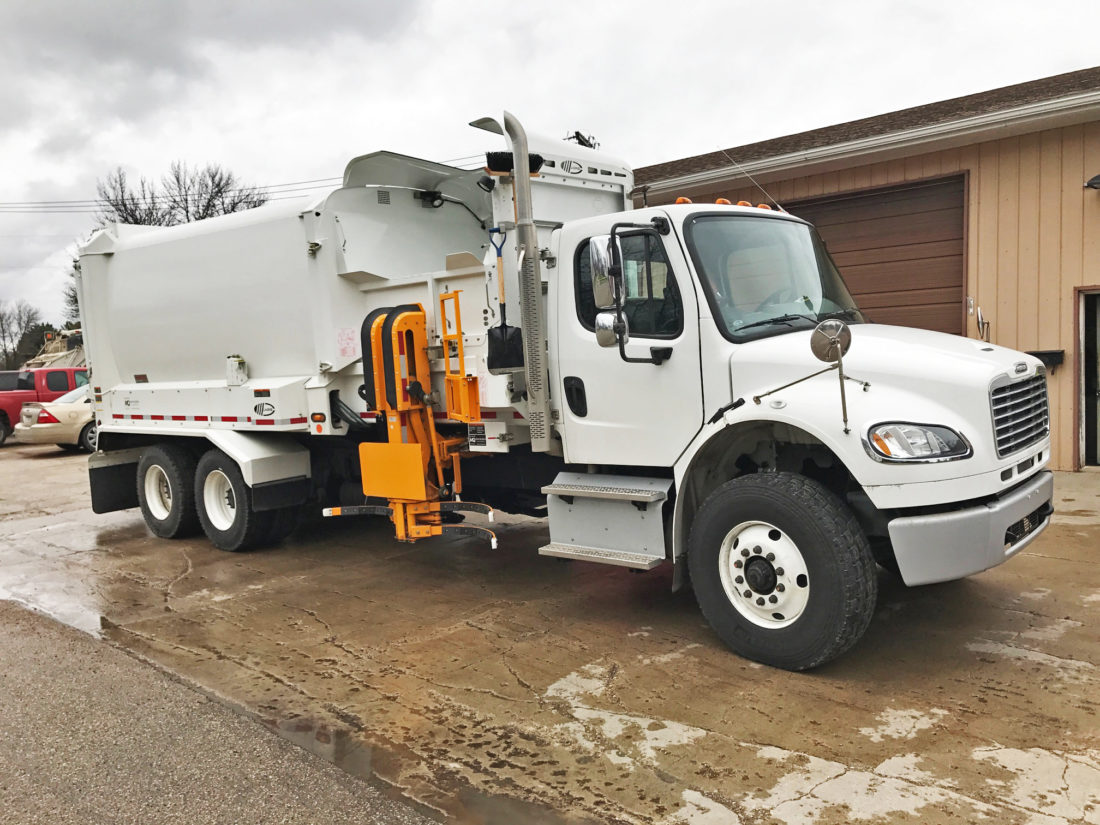 City of Wheaton, MN – Labrie Automizer Garbage Truck